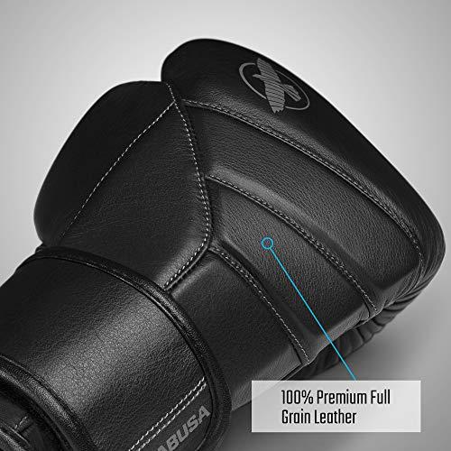 Hayabusa T3 Kanpeki Boxing Gloves for Men and Women - Black, 14oz
