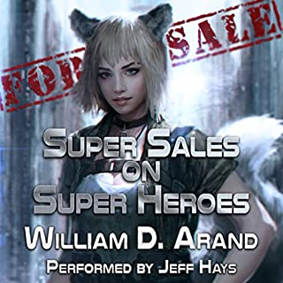 Couverture de Super Sales on Super Heroes