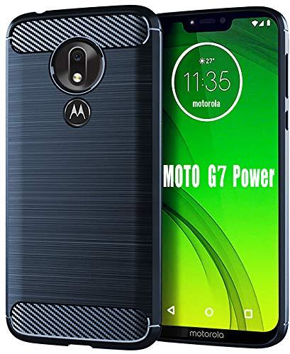Moto G7 Power Case,Moto G7 Supra Case,HNHYGETE Soft Slim Shockproof Anti-Fingerprint Full Protective Phone Cases for Motorola Moto G7 Power 2019...