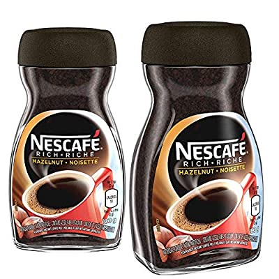 NESCAFÉ Rich Hazelnut, Instant Coffee, 100g Jar | 2- Pack