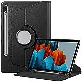 FINTIE Coque pour Samsung Galaxy Tab S7 11' 2020-Housse Rotation 360 Degrés Etui...