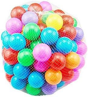 100 قطعة من كرات المتعة الملونة مصنوعة من البلاستيك اللين لخيم الأطفال وأحواض السباحة، هدية ألعاب 2.76