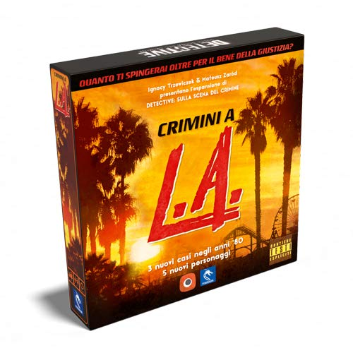 Asmodee Italia- Detective en Escena expansión Crimini a L.A. Juego de Mesa Colgante, Color, 0552: Amazon.es: Juguetes y juegos