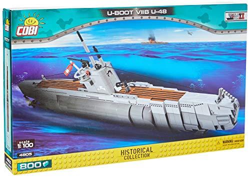 "COBI 4805"" U-Boot VIIB U-48 Konstruktionsspielzeug, Grau/braun"