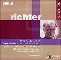 Richter plays Haydn, Chopin, Beethoven, Schumann, & Rachmaninov (BBC) (2002-03-12)