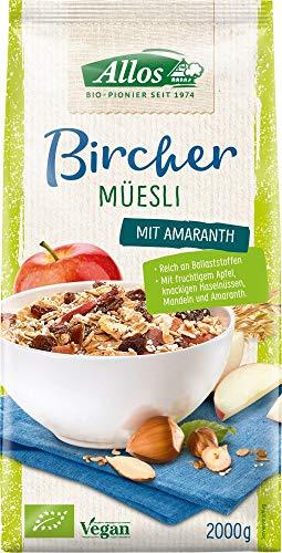 Allos Bio Bircher Müsli 2kg (2 x 2000 gr)