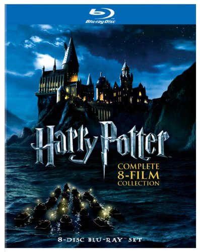 Harry Potter Complete 8-Film Blu-ray Set  $25 at Amazon