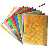 Lámina de transferencia térmica de vinilo, lámina de transferencia textil para camisetas, letras, pegatinas, carteles, color 12 colores
