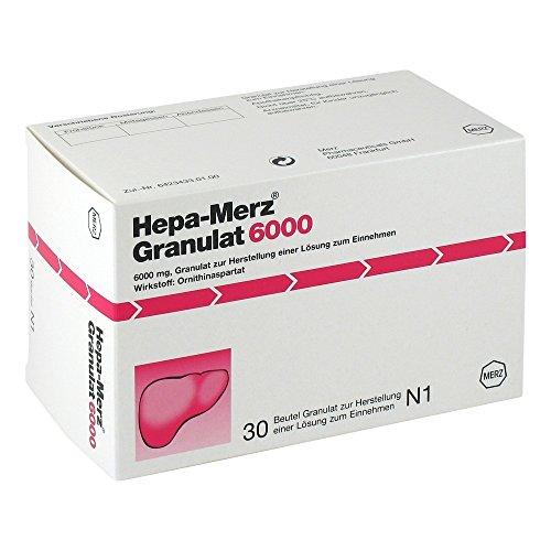 Hepa Merz Granulat 6000, 30 St