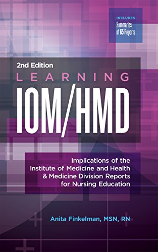 Learning IOM/HMD: Implications of the Institute of Medicine and Health & Medicine Division Reports for Nursing Education (English Edition)
