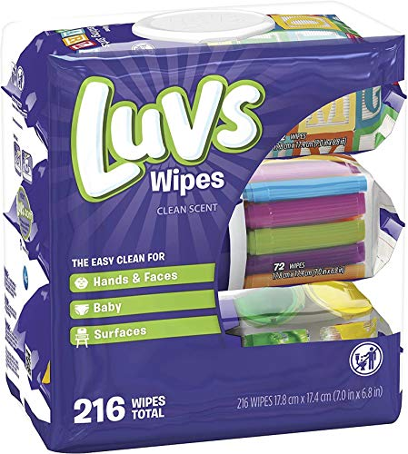 Luvs Baby Wipes 3X 216 Count