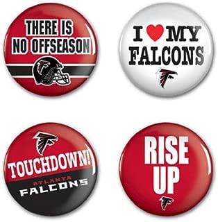 WinCraft NFL Round Button (4 Pack)