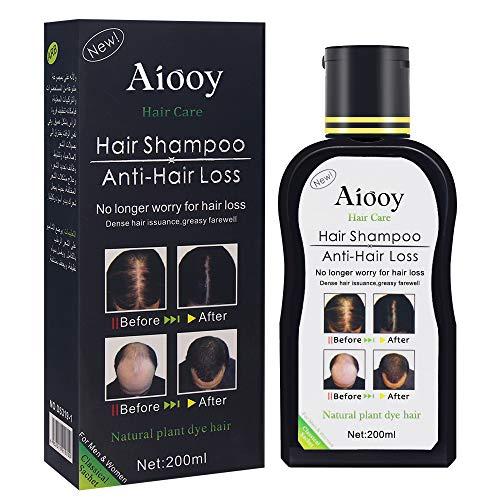 Haarausfall Shampoo,Haarwachstum Shampoo, Anti Haarverlust Shampoo, Shampoo Gegen Haarausfall, Hair Growth Natürliches Kräutershampoo für schnelleres Nachwachsen der Haare/Verhindert Haarausfall