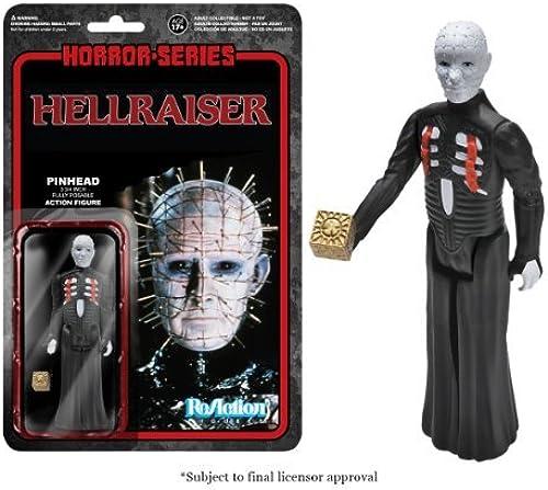 Horror-Series Hellraiser III Pinhead ReAction Fig. by Hellraiser