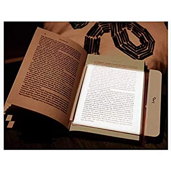 Paperback Book Light Wedge Panel Adjustable Book Reading Lamp LED Reading Lights Perfect for Reading in Bed