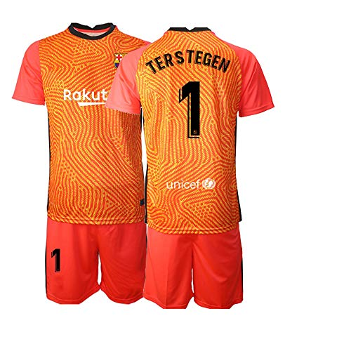 JEEG 20/21 Herren TERSTEGEN 1# Fußball Trikot Fans Jersey Trainings Trikots (S)