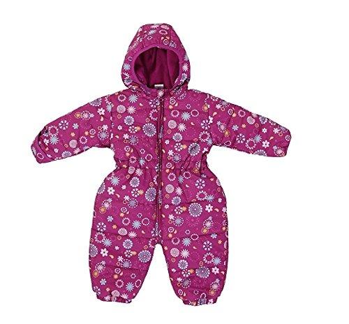 Jacky Baby - Combinaison de neige - Bébé (fille) 0 à 24 mois rose himbeere allover 74
