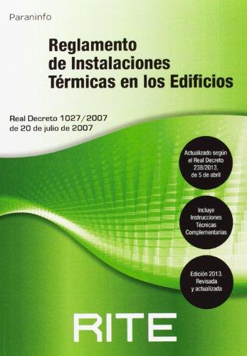 Reglamento De Instalaciones Térmicas En Los Edificios - 7ª Edición