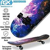 Zoom IMG-1 wellife skateboard completo per principianti