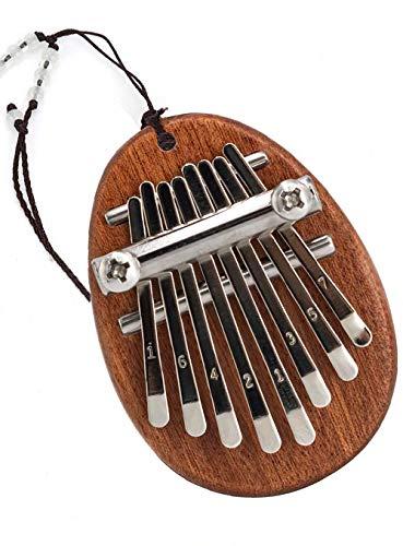 joybox 8 Keys Thumb Piano Mini Kalimba Thumb Piano Portable Piano exquisite Thumb Piano Solid Wood Finger Piano Pendant Musical Instrument Beginners Gift