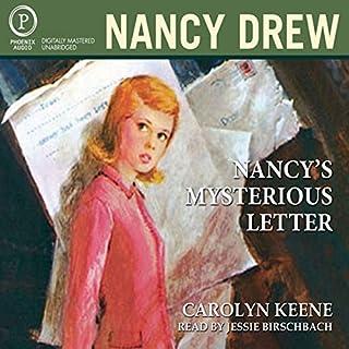 Nancy's Mysterious Letter audiobook cover art