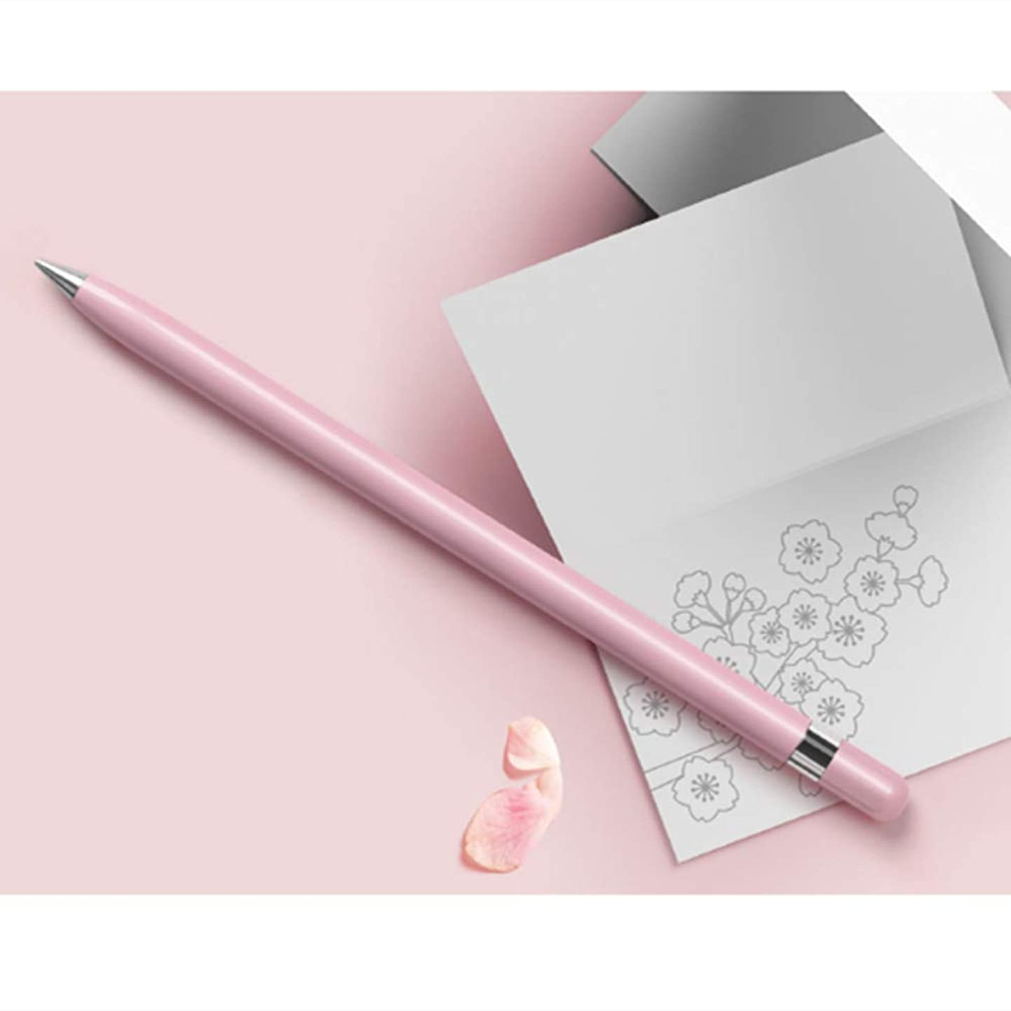 Pencils,Special Pencil, Gift Box,Special stationery,No Need For a Pencil Sharpener (Pink) uiusezrdedu1