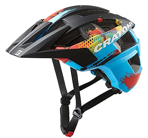 Cratoni Casco de bicicleta de montaña Allset (azul silvestr