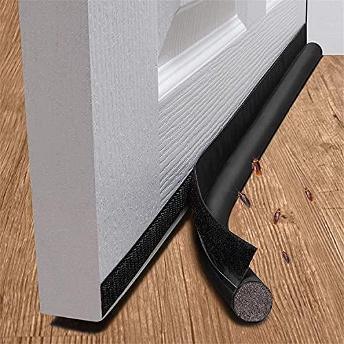 Faffooz Burlete Para Puertas Tope Aislante Para La Puerta Se utiliza en Dormitorios, Cocinas y Baños para Prevenir Eficazmente el Polvo, Los Insectos, el Viento y el Aislamiento Acústico