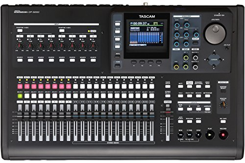 Tascam DP-32SD Pack Digital 32-Track SD Portastudio Portable Studio Recorder with Cables and Headphones