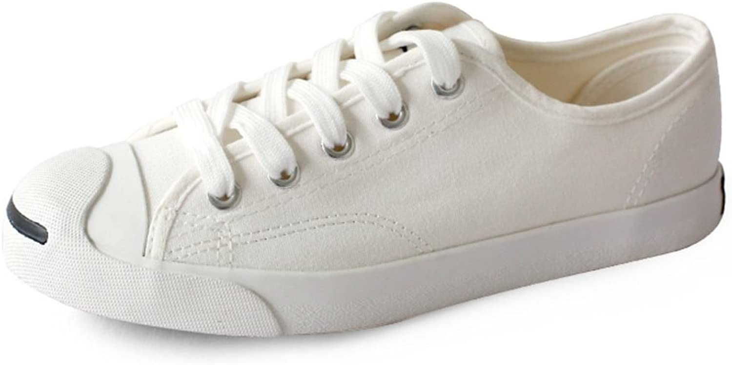 Huhuj Shell-toe shoes Low canvas shoes Lace thin shoes