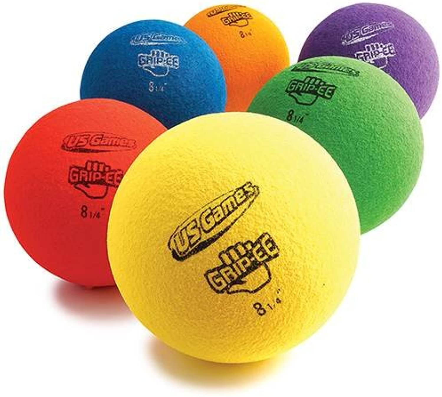 US Games Usg Grippee 8.25  Ball Prism Pack