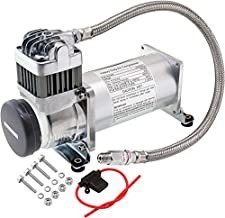 Vixen Horns Heavy Duty Onboard Air Compressor 200 PSI. Universal Replacement for Truck/Car Train Horn/Suspension/Ride/Bag kit/System. Fits All 12v Vehicles Like Semi/Pickup Trucks/Jeep VXC8301