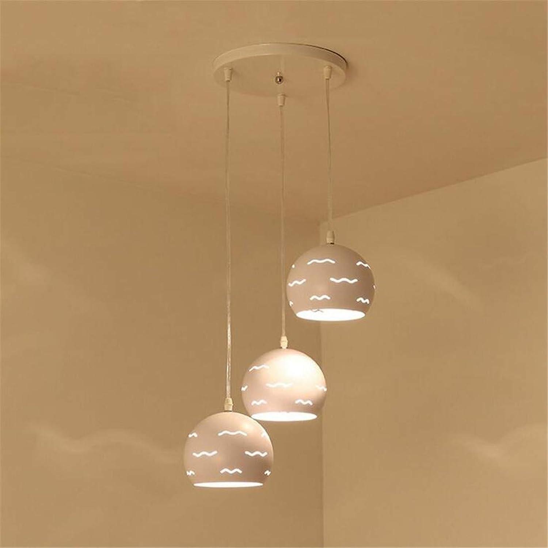 Lampe, minimalistisch als 3-in-LED-Scheinwerfer Esszimmer Wohnzimmer Schlafzimmer Balkon Innenbeleuchtung Lichter (Farbe  3-Farben-Dimmen - (A)