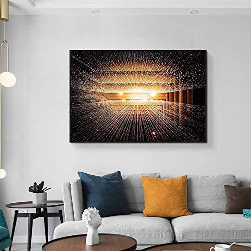 Frameloze schilderij Art Deco Bright Canvas Wall Art Nordic Classic Art woonkamer slaapkamer muurschilderingAY5729 40X60cm