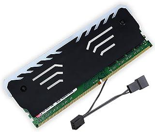 GROOMY Memory-RAM RGB Cooler Disipador de Calor Chaleco de enfriamiento para DIY Juego de PC DDR DDR3 DDR4
