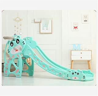 Skiout Children's Slide Folding Plastic Play Slide Climbing Ride Outdoor Indoor Play Toy Playground Climber for Kids