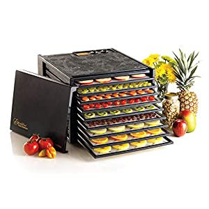 Excalibur Food Dehydrator 9-Tray Electric with 26-hour Timer, Automatic Shut Off and Temperature Settings for Faster and…