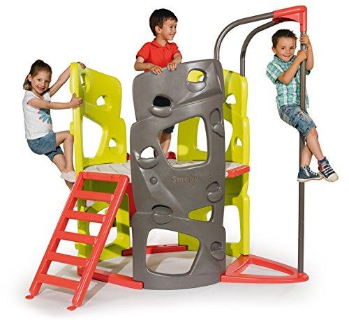 Smoby 840201 - Kletter-Spielturm mit Rutsche