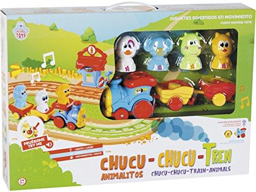 PICCOLOTOYS Tren Animalitos Chucu Chucu Luces y Sonidos 2-4 años