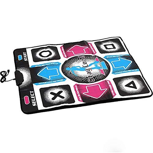 Gu3Je Antideslizante Antideslizante Baile del USB Paso Manta Dance Revolution Mat Pad for PC TV ( Size : 94x82x1.1cm )