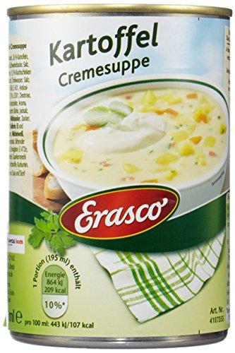 Erasco Kartoffel Cremesuppe, 3er Pack (3 x 390 ml Dose)