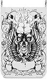 FKMYS Cesto de lavandería Bolsa Maravilloso Ejemplo del cráneo Retro de la Puerta/Pared/Armario Grande de lavandería Bolso Cesta de Ropa Sucia del Organizador del almacenaje Impermeable Ahorro de