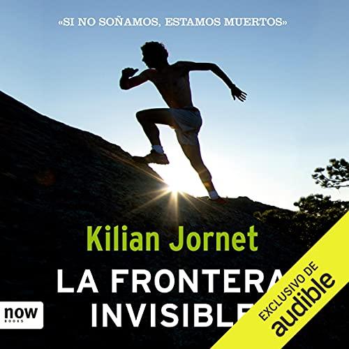 Diseño de la portada del título La frontera invisible