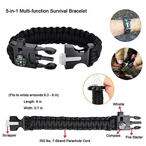Tianers 16-in-1 Survival Kit
