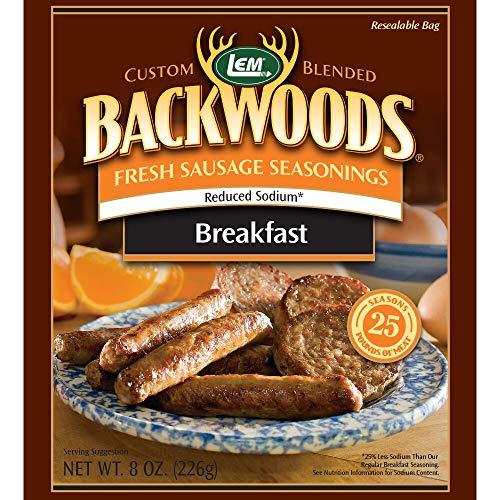 LEM 9164 Backwoods Low Sodium Fresh Breakfast Seasoning...