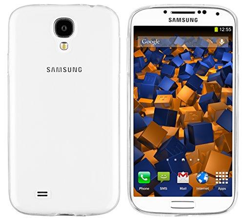 mumbi Hülle kompatibel mit Samsung Galaxy S4 Handy Case Handyhülle Slim dünn, transparent