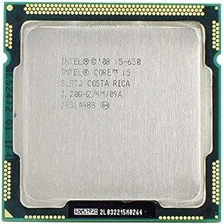 وحدة المعالجة المركزية - معالج Intel Core i5 650 3. 20GHz 4M SLBLK SLBTJ كمبيوتر CPU