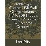 Hidden Spy Camera USB Wall Charger Adapter HD 1080P Hidden Camera Recorder 32GB home Security