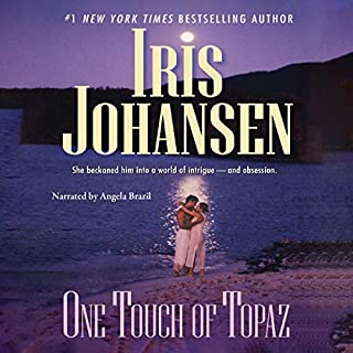 One Touch of Topaz audiobook cover art