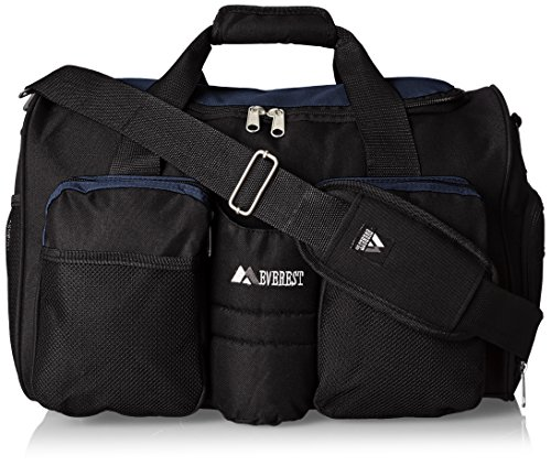 Everest Gym Bag with Wet Pocket, Navy